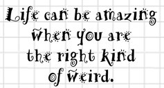 Right King of Weird